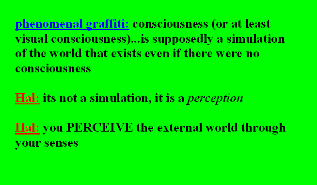 DO WE PERCEIVE THE EXTERNAL WORLD? THIS IS IT---THE FINAL TRUTH! 0externalworld011
