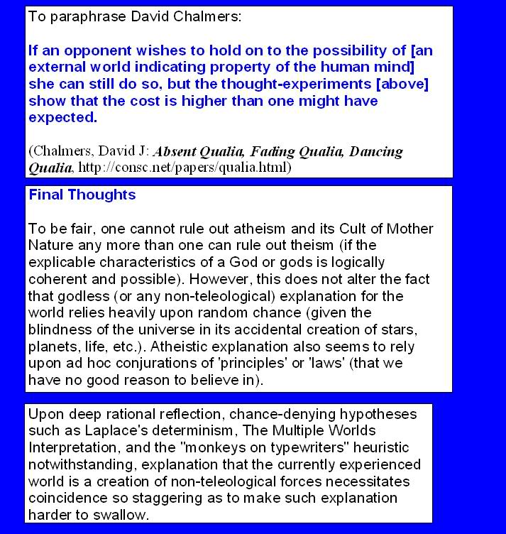 THE FAITH OF THE ATHEIST AND THE CULT OF MOTHER NATURE FaithoftheAtheistILParticleinpic25