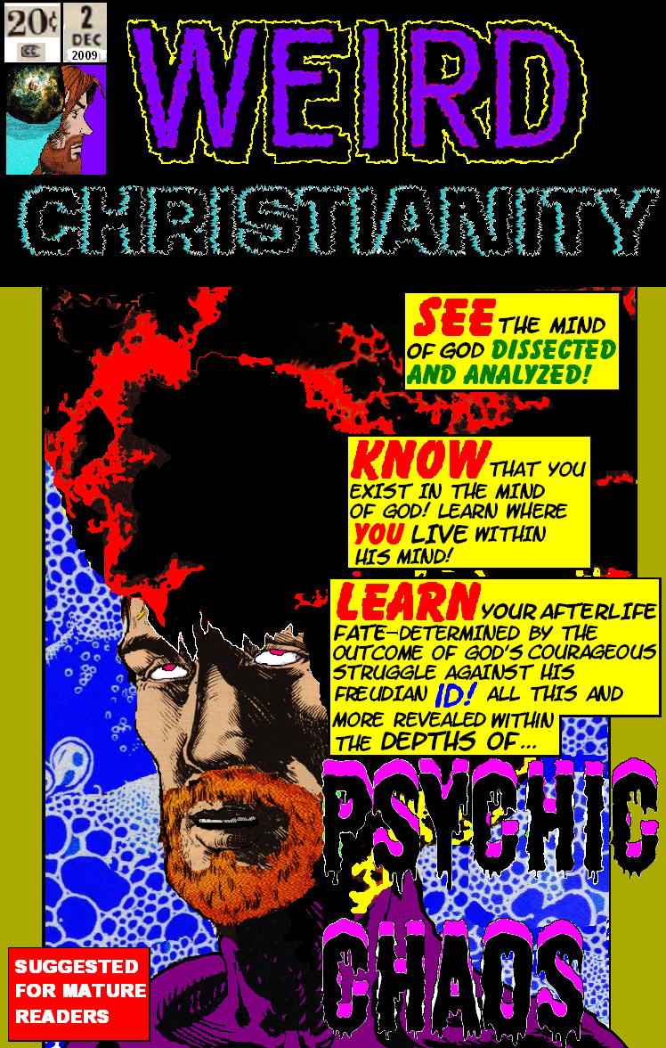 WEIRD CHRISTIANITY Issue 2 : THE PSYCHIC CHAOS! WC2comiccoversized