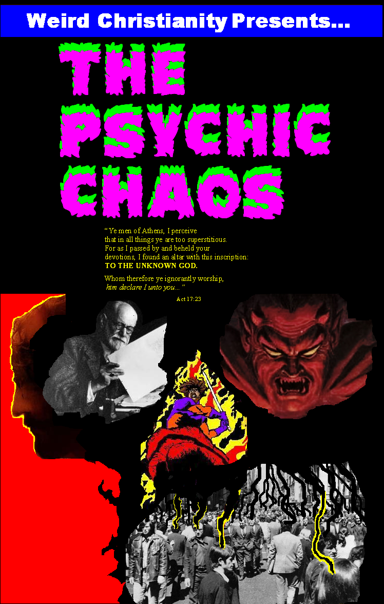 WEIRD CHRISTIANITY Issue 2 : THE PSYCHIC CHAOS! WeirdChristianity2FrontpiecepageNEW
