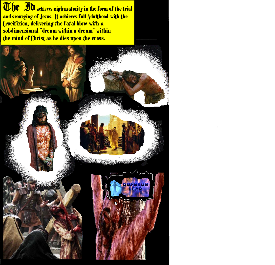 WEIRD CHRISTIANITY Issue 3: THE REIGN OF THE ID WeirdChristianity3comicpage9-1