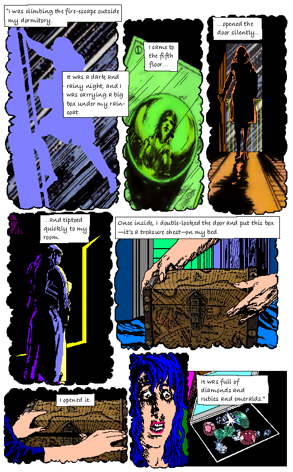 """WEIRD CHRISTIANITY #7 (FINAL ISSUE)....""""OF LOVE AND MARVEL!"""" WeirdChristianity7comicpage35"""