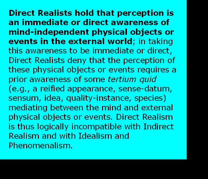 AT LAST! PROOF THAT WE DO NOT PERCEIVE THE EXTERNAL WORLD: THE END Chapter3-16