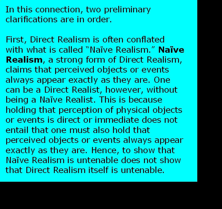 AT LAST! PROOF THAT WE DO NOT PERCEIVE THE EXTERNAL WORLD: THE END Chapter3-29