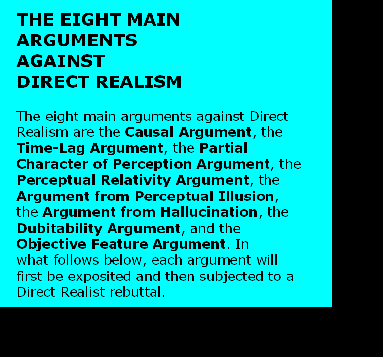 AT LAST! PROOF THAT WE DO NOT PERCEIVE THE EXTERNAL WORLD: THE END Chapter3-37