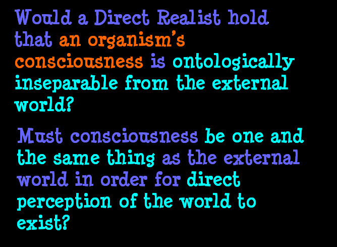 AT LAST! PROOF THAT WE DO NOT PERCEIVE THE EXTERNAL WORLD: THE END Chapter3-64