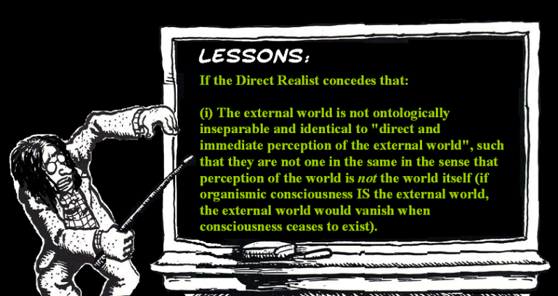 AT LAST! PROOF THAT WE DO NOT PERCEIVE THE EXTERNAL WORLD: THE END Chapter3-82