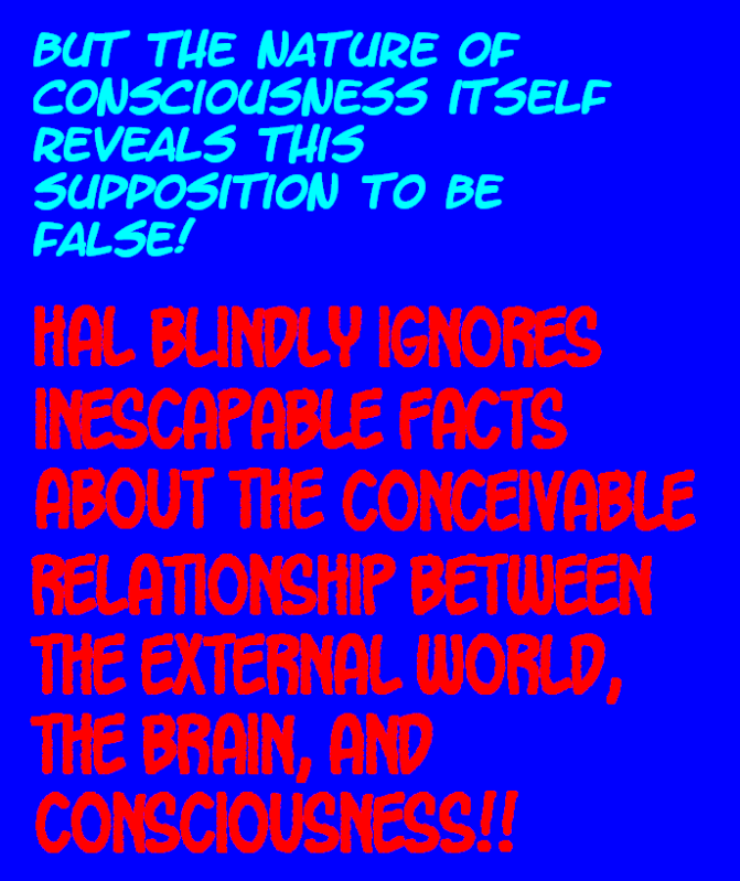 DO WE PERCEIVE THE EXTERNAL WORLD? THIS IS IT---THE FINAL TRUTH! Externalworld2-2