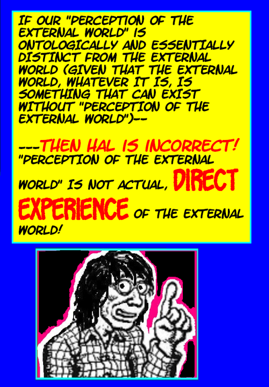 DO WE PERCEIVE THE EXTERNAL WORLD? THIS IS IT---THE FINAL TRUTH! Externalworld32-1