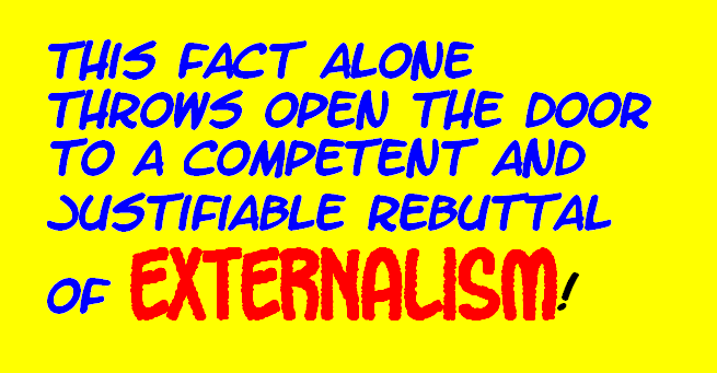 DO WE PERCEIVE THE EXTERNAL WORLD? THIS IS IT---THE FINAL TRUTH! Externalworld9-1