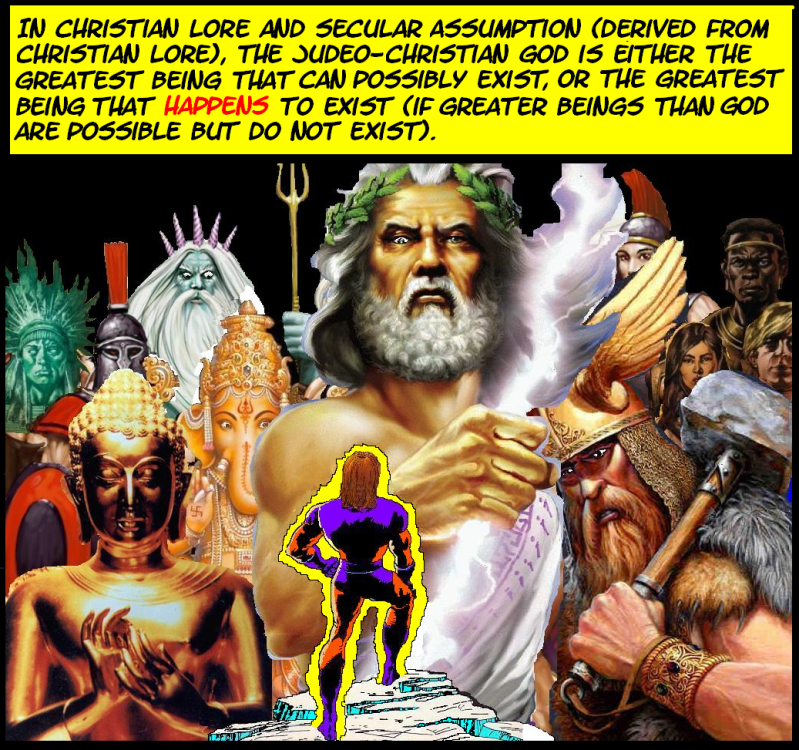 WEIRD CHRISTIANITY Issue 1: The Problem With Omniscience Omnisciencepanel1renewed