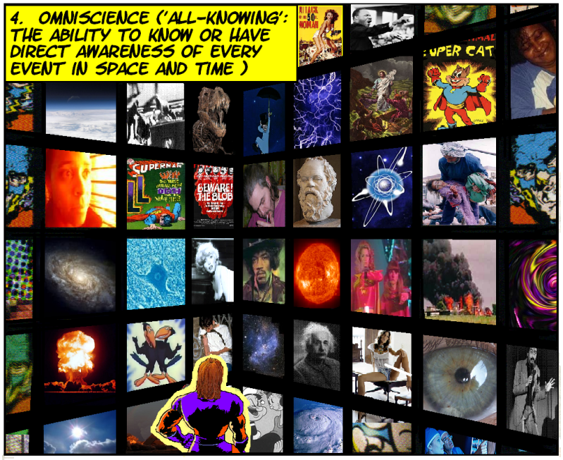 WEIRD CHRISTIANITY Issue 1: The Problem With Omniscience Omnisciencepanel4