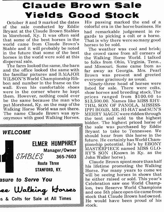 Kentucky, Ohio & Indiana Memories - Page 15 ClaudeBrownSale