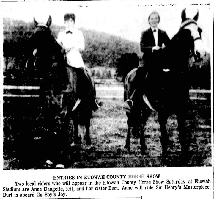 Alabama & Mississippi Memories - Page 2 EtowahCountyHorseShow1966