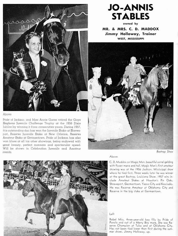 Alabama & Mississippi Memories - Page 2 Joe-AnnisStablesMississippi