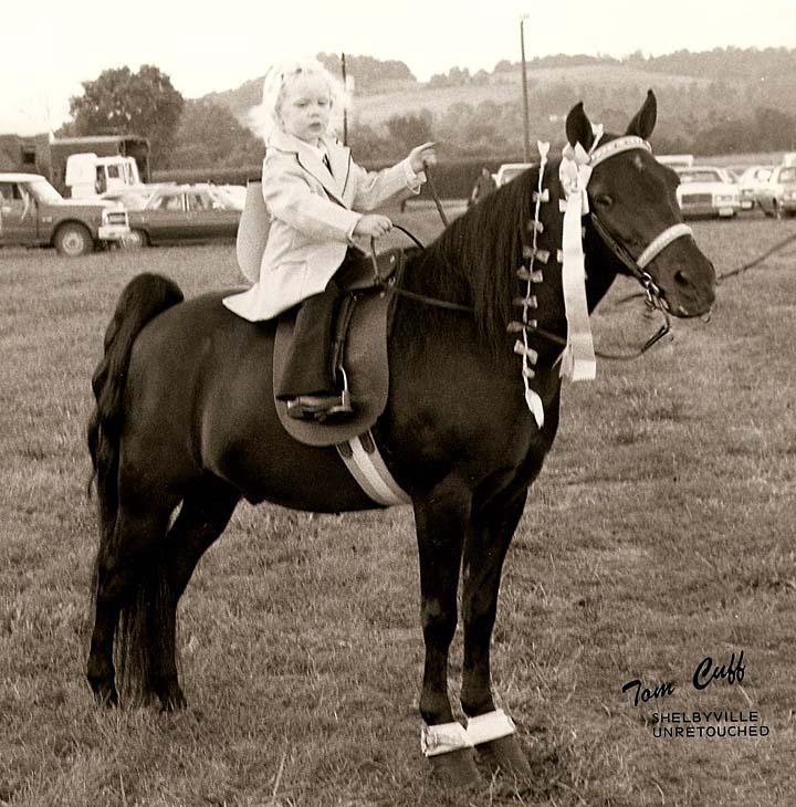 Photos & Memorabilia - Page 14 JulieMagnussonPonyShelbyvilleTn19761