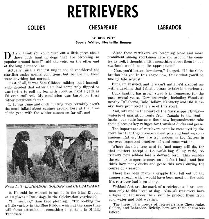 The BEST of Walking Horse Trivia! - Page 26 Retrievers1