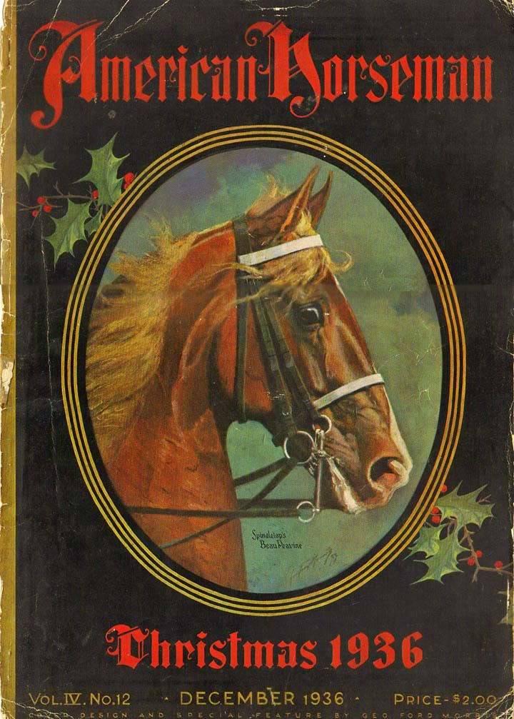 Equine Art - Page 2 AmericanHorsemanCoverDec1936