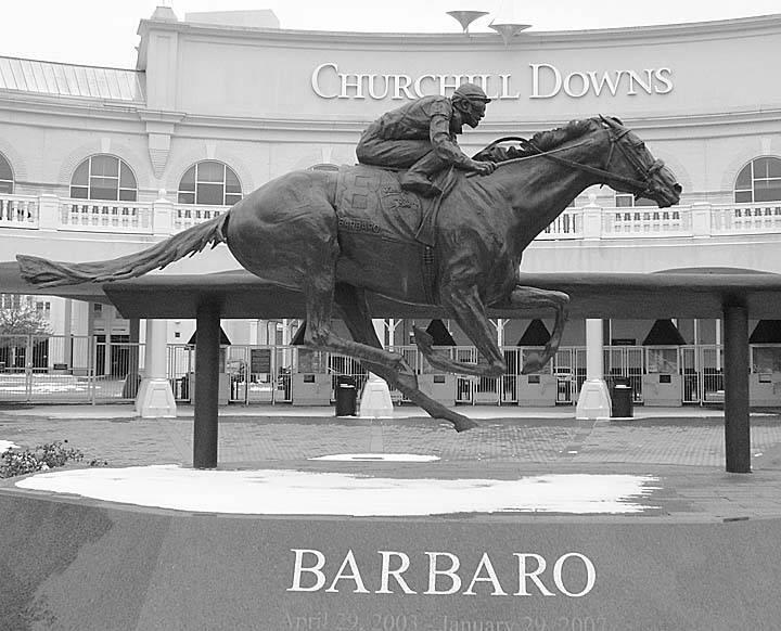 Equine Art - Page 2 Barbaro1