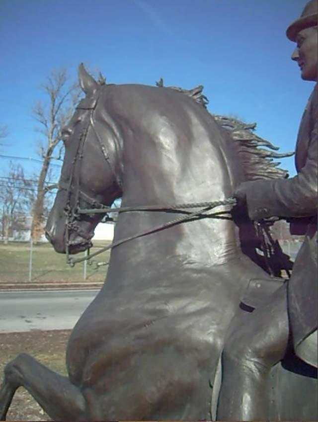 Equine Art GaylordStatue3