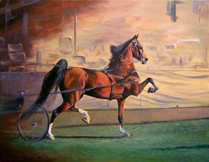 Equine Art - Page 2 HarnessPony
