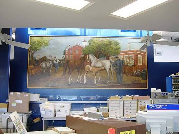 Equine Art - Page 2 HorseSwappingMural1