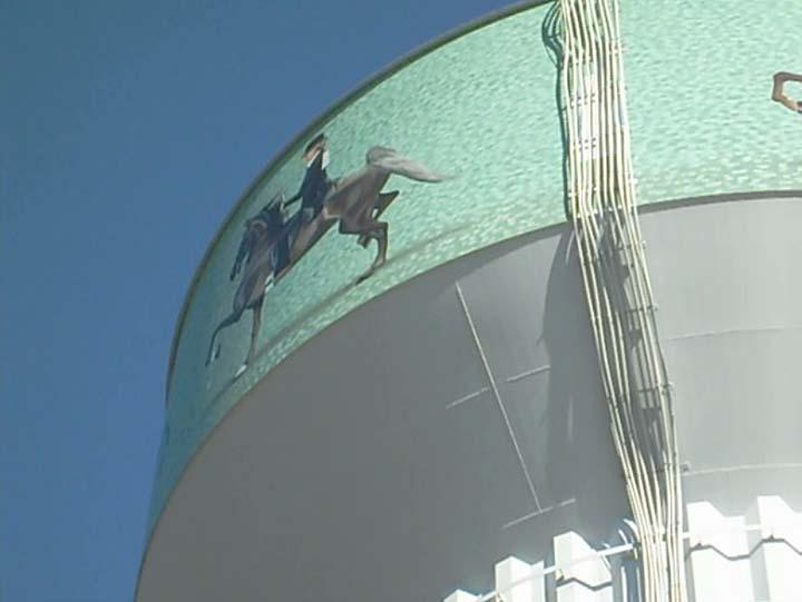 Equine Art ShelbyvilleWaterTower6