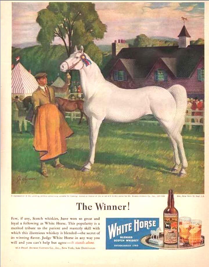 Equine Art - Page 2 WhiteHorseScotch
