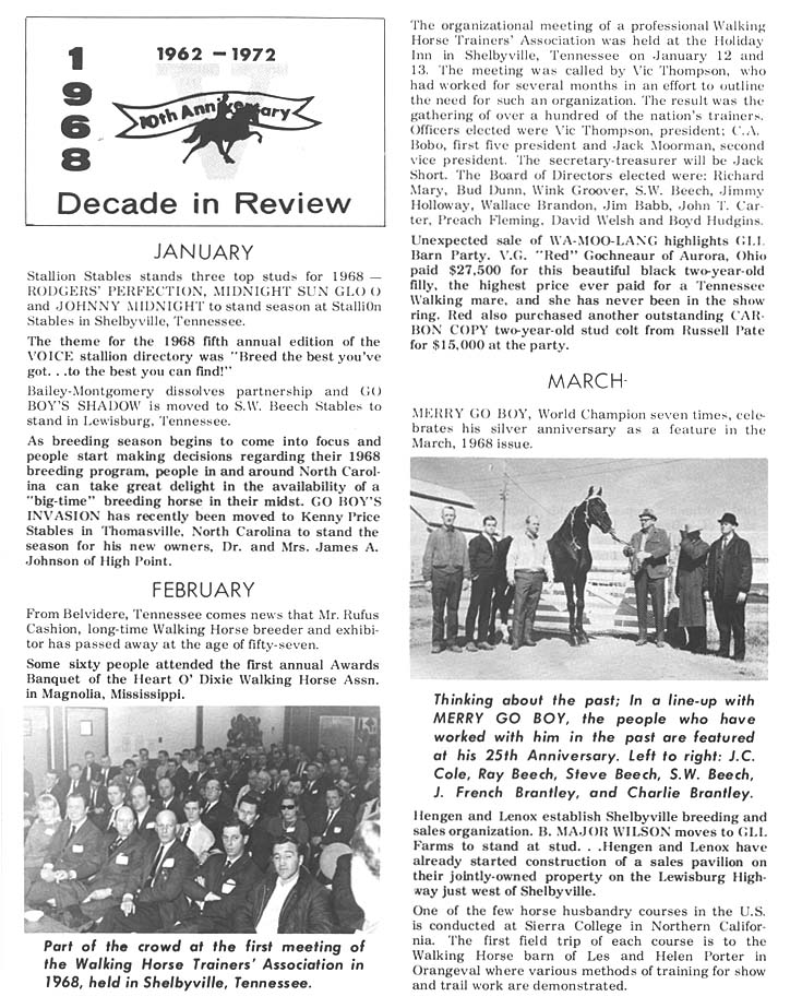 History Of The Tennessee Walking Horse - Page 3 DIR26