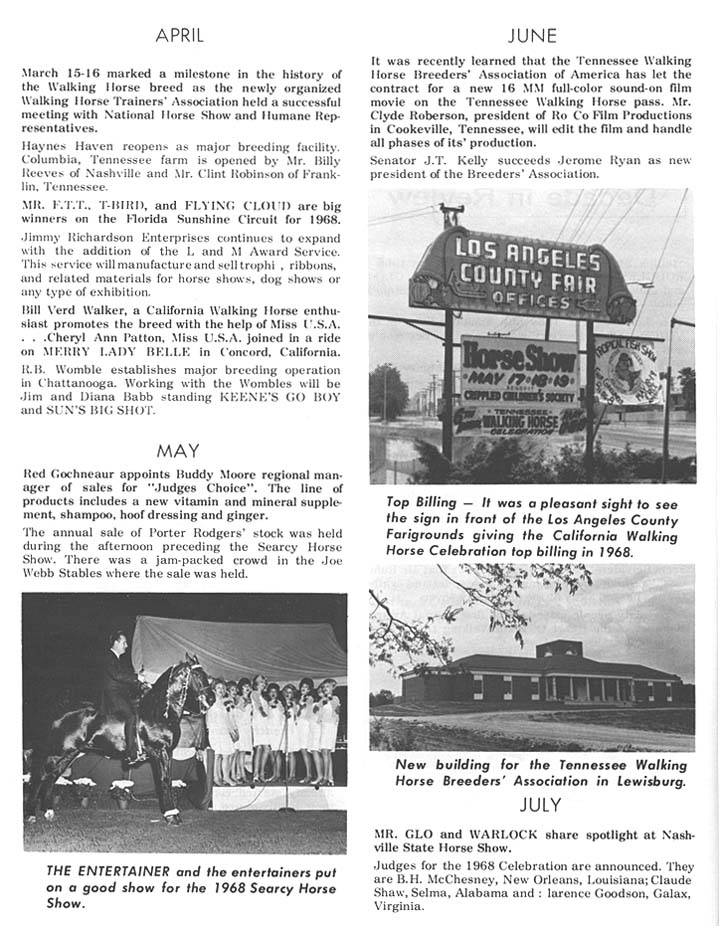 History Of The Tennessee Walking Horse - Page 3 DIR27