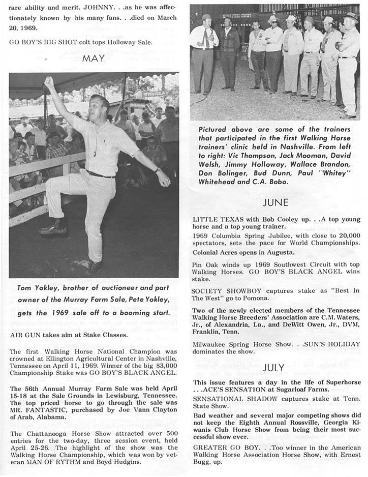 History Of The Tennessee Walking Horse - Page 4 DIR30