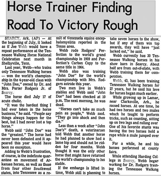 Trivia Archive 8 - Page 3 JoeWebb1971NewsArticle