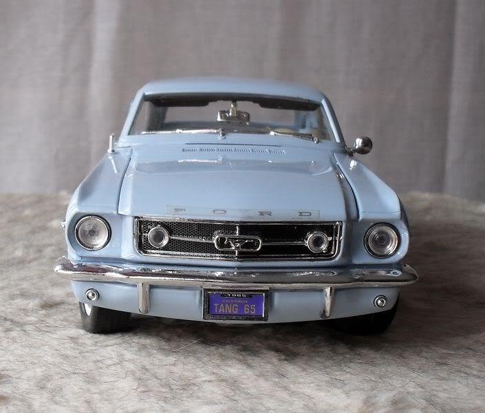 les  miniatures vue dans les salons, les mitings, .... Mustang65mini