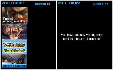 voting incentive :) Vote
