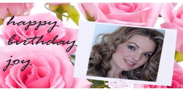 3rd May 2008 · Happy Birthday Joy Joy-1