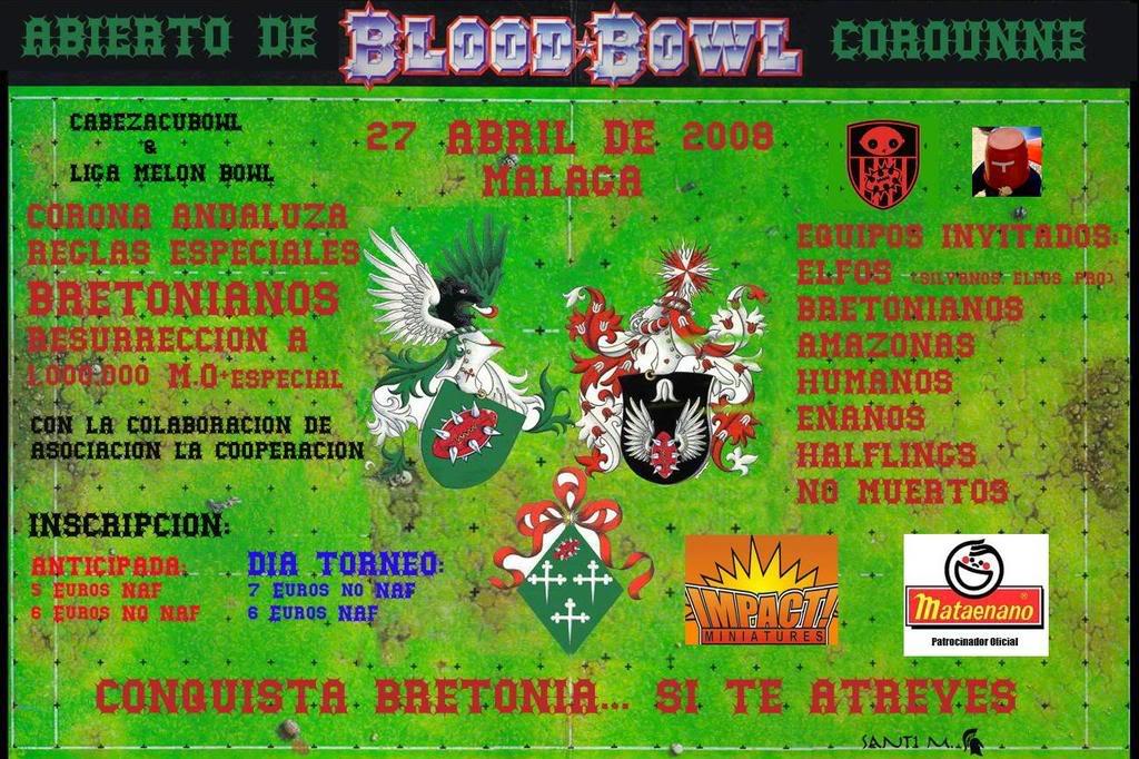 Abierto de Corounne-Málaga:27 de Abril CARTEL-1