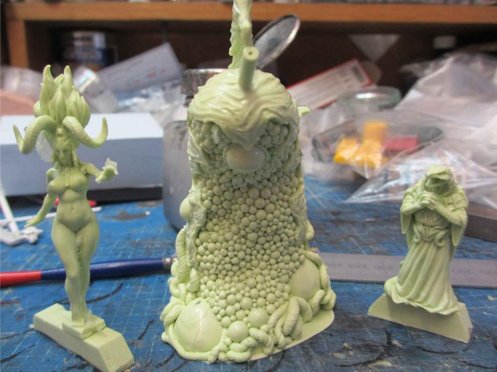 Cthulhu Wars - fotos das minis Phase2cast1