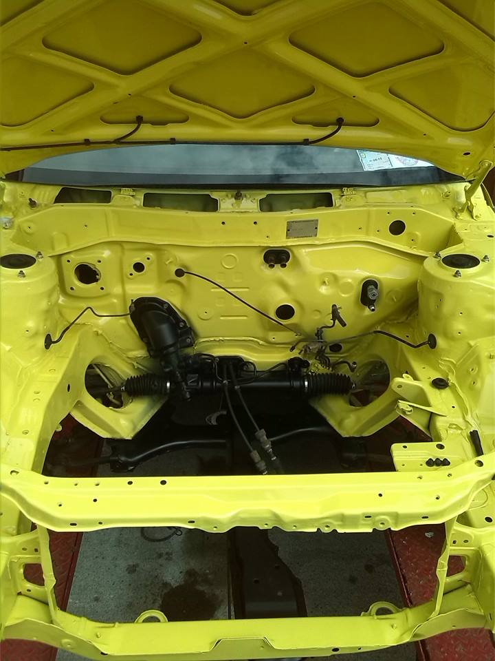my yellow ae101 fx gt  Enginebay