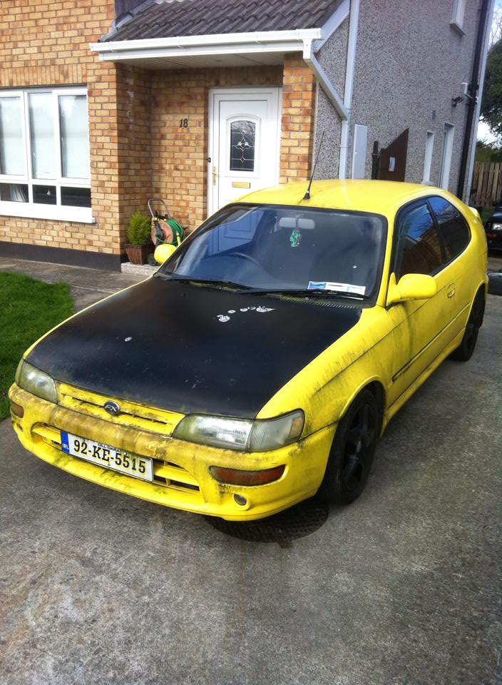 my yellow ae101 fx gt  Manky1