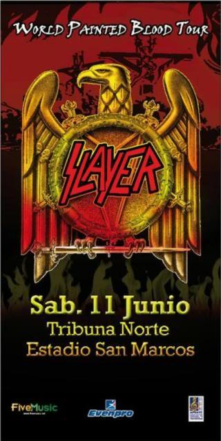 SLAYER 11 DE JUNIO 2011 ESTADIO SAN MARCOS SLAYERT