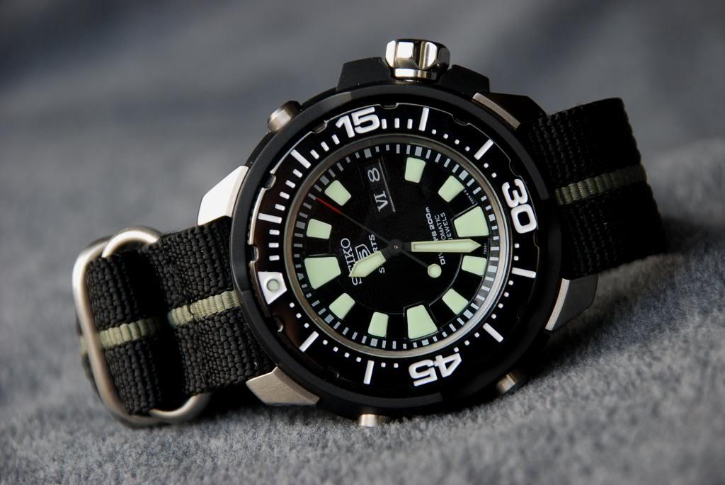 "Seiko 5 SKZ255K1 ""FrankenMonster"" Automatic Diver DSC_0010-1"