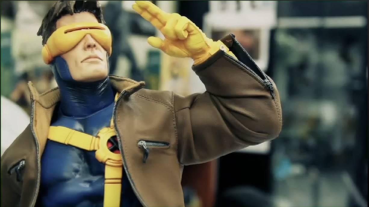 Novidades para os colecionáveis da Marvel da Sideshow: 2010 Comic-Con Panel CyclopsPF3