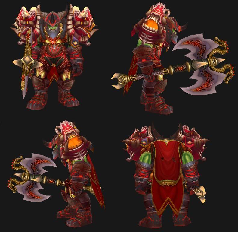 Pote Dragon Arms Transmog:  Need Tweaks PoteTransmog
