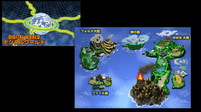 Digimon Research MapadelDW