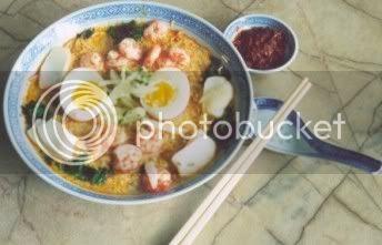 Malaysia Food (NON-Halal) Laksa