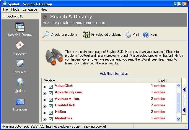 Spybot - Search & Destroy 1.4 Spybot