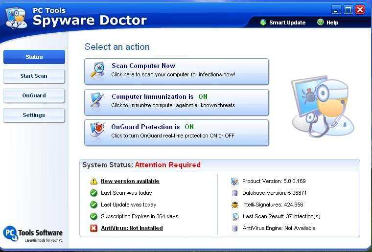 SpyWare Doctor V5.0 + Solution Spydoc