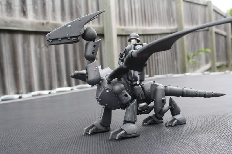 Dragon Rider a Stikfas Custom Pics346