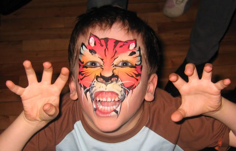 Passionné de Maquillage Artistique MaquillageCabane7avril2007042_Tigre