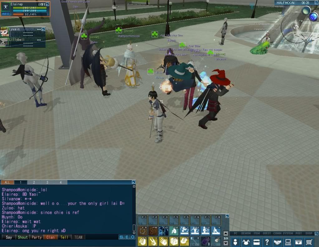 Impromptu Event: Clan Strip Dice :B 20110114_0324_46